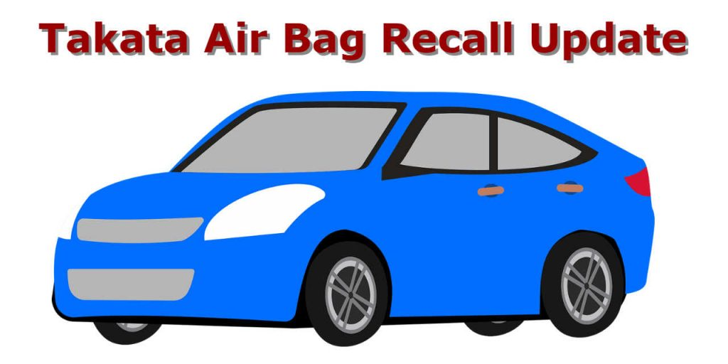 takata air bag recall update